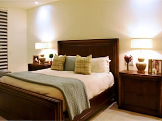 CREA arquitectos Classic style bedroom