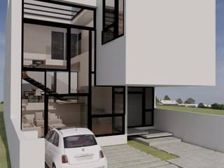MT-GI STRATEGIC SERVICES ミニマルな 家 ガラス 白色