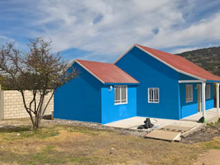 casa prefabricada de 100 mts2  : Casas prefabricadas de estilo  por Casa Prefabricada en Mexico.
