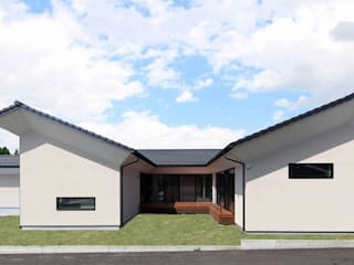 STaD(株式会社鈴木貴博建築設計事務所) Asiatische Häuser