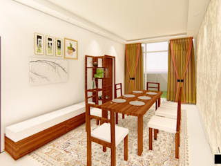 Aikaa Designs Comedores de estilo minimalista