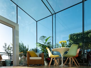 South West London IQ Glass UK Balcony Glass Transparent