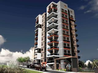 Berat Yeğen Mimarlık San ve Tic LTD ŞTİ – Gül Sitesi Kentsel Dönüşüm Projesi:  tarz Apartman