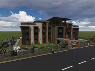 Berat Yeğen Mimarlık San ve Tic LTD ŞTİ – Ağrı 112 Acil Komuta Merkezi:  tarz Hastaneler