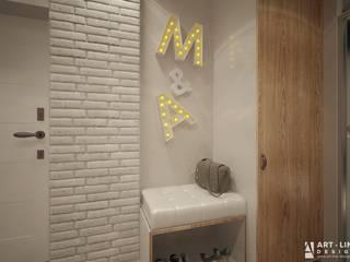 Art-line Design Couloir, entrée, escaliers minimalistes