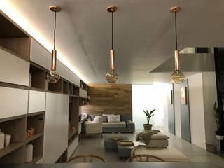 Salas / recibidores de estilo  por Modulus, Minimalista