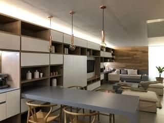 Salas de estilo minimalista de Modulus Minimalista