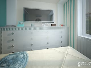 Scandinavian style bedroom by Art-line Design Scandinavian