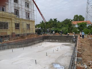 Swimming pool construction:   by seapoolvn