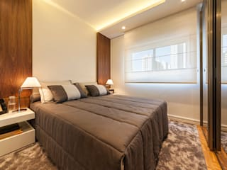 Small bedroom by Larissa Lieders Arquitetura + Interiores, Modern