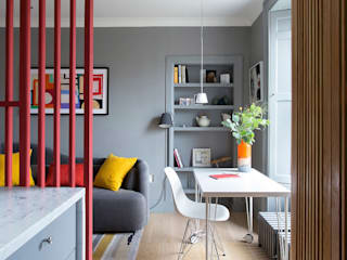 Edinburgh Flat:  Kitchen by John Wilson Design, Minimalist