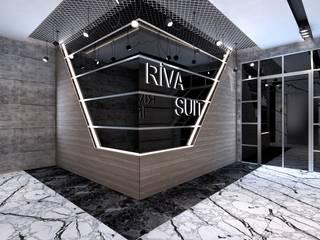 Riva Residence Modern Koridor, Hol & Merdivenler ELTA VR SOLUTIONS Modern