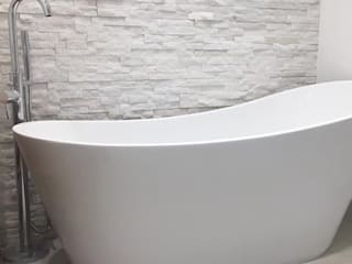 Dab dwelling Modern style bathrooms by Dab Den Ltd Modern