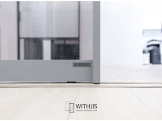 WITHJIS(위드지스) Exhibition centres Aluminium/Zinc Metallic/Silver