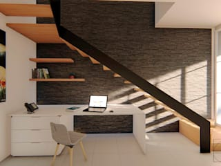 Escaleras de estilo  por GóMEZ arquitectos