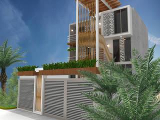 Condominio Acapulco de EH ARQUITECTOS Tropical