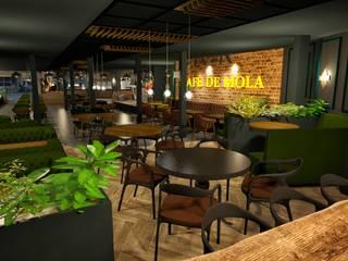 VOGUE MİMARLIK ATÖLYESİ – ÜST LOCA ALANI:  tarz Bar & kulüpler