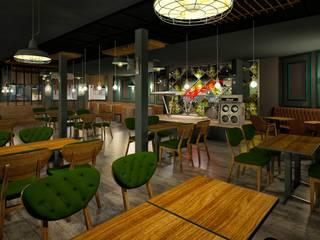 VOGUE MİMARLIK ATÖLYESİ – ANA SALON:  tarz Bar & kulüpler