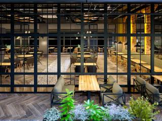 VOGUE MİMARLIK ATÖLYESİ – ÖN BAHÇE:  tarz Bar & kulüpler