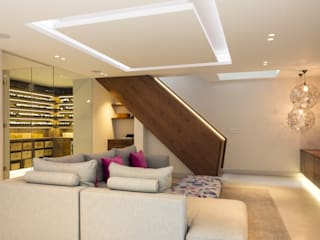 The Sunken Room Modern living room by Shape London Modern