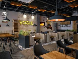 Bar & Club in stile  di VOGUE MİMARLIK ATÖLYESİ
