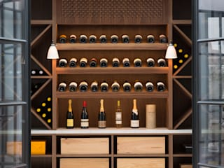 Pier House Modern wine cellar by Shape London Modern