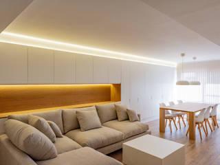 VIVIENDA MM SMB ARQUITECTURA Salones de estilo moderno