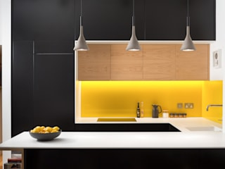 The Lemon Tree House Shape London Built-in kitchens