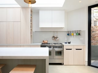 The Signal House Shape London Built-in kitchens