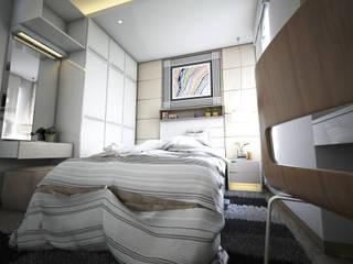 Padasuka Residence Bandung Kamar Tidur Modern Oleh Maxx Details Modern