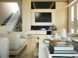 Ruang Keluarga Ruang Keluarga Modern Oleh Maxx Details Modern