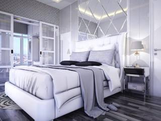 Ruang Utama Kamar Tidur Modern Oleh Maxx Details Modern