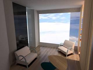 Remodelacion Phent House Torres de Colon - Rodadero Santat Marta : Salas de estilo  por NOGUERA ARQUITECTOS ,