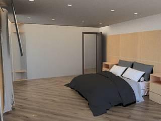Remodelacion Phent House Torres de Colon - Rodadero Santat Marta : Habitaciones de estilo  por NOGUERA ARQUITECTOS ,