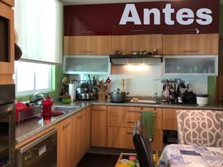 Remodelación de Cocina Integral en residencia Celaya, Gto.:  de estilo  por Räume, espacios con idea