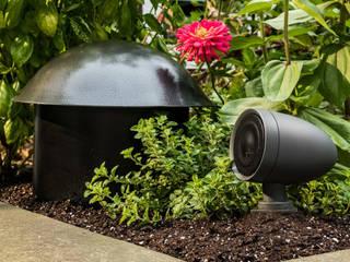 Sistema de som para Jardim por Magnelusa, SA Moderno