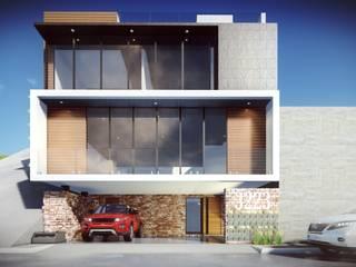 Proyectos y Maquinaria Del Norte SA de CV Casas de estilo moderno