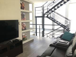Proyectos y Maquinaria Del Norte SA de CV Salas multimedia de estilo moderno