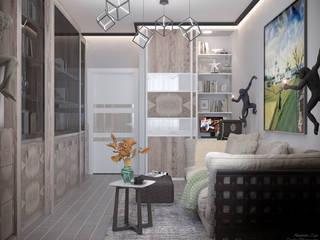 Moderne Arbeitszimmer von Студия интерьерного дизайна happy.design Modern