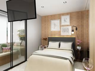 Liliana Zenaro Interiores Modern style bedroom