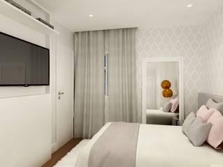 Decoração Clássica de Apartamento em Moema: Quarto infantil  por Liliana Zenaro Interiores,