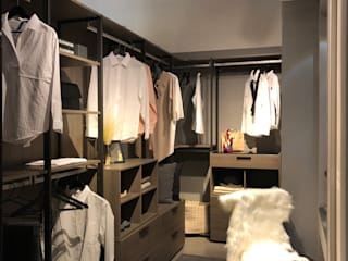 Hanssem flagship store dress room styling(Seoul): studio_BAT의 스칸디나비아 사람 ,북유럽