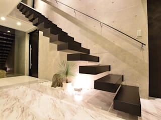 Style Create Stairs Concrete Black
