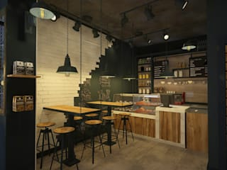 VOGUE MİMARLIK ATÖLYESİ – BAR MASASI:  tarz Bar & kulüpler