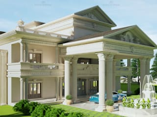 Royal Mansion - Monnaie Architects & Interiors, Kochi, Kerala by Monnaie Architects & Interiors Classic