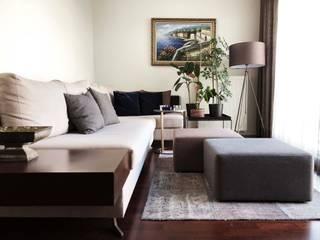 现代客厅設計點子、靈感 & 圖片 根據 ΛRCHIST Mimarlık|Archıtecture 現代風