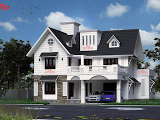 Home Architects in Cochin Asian style houses by CreoHomes Pvt Ltd Asian