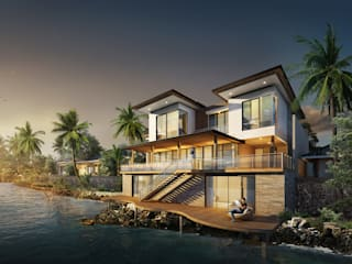 MALAIHOLO RESIDENCE Rumah Tropis Oleh Baskara Design and Planning Tropis