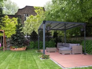 Nowoczesna altana ogrodowa Milano: styl , w kategorii  zaprojektowany przez Palram.pl