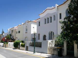 CASA ARCO DO CEGO, LISBOA Casas modernas por AMPLO arquitectos Moderno